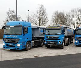 Donauasphalt-Bau-Fahrzeuge