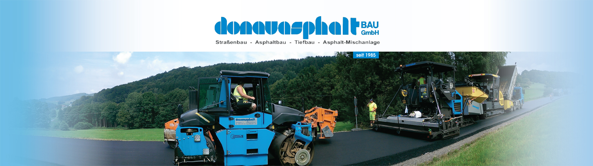 Donauasphalt Bau GmbH – Straßenbau, Asphaltbau, Tiefbau